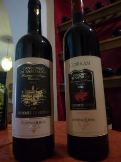 Canonnau Rotwein Sardinien